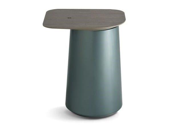 Tavolino Laccato Clic Rettangolare Multistrato Roche Bobois In PkXO08wn