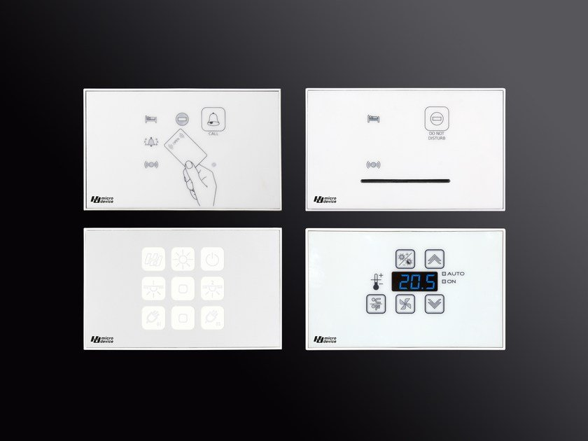 Building automation system for hotel CLICK & TOUCH by MICRODEVICE