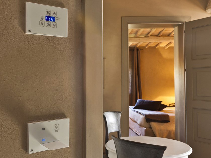 Building automation system for hotel CLICK&TOUCH by Microdevice