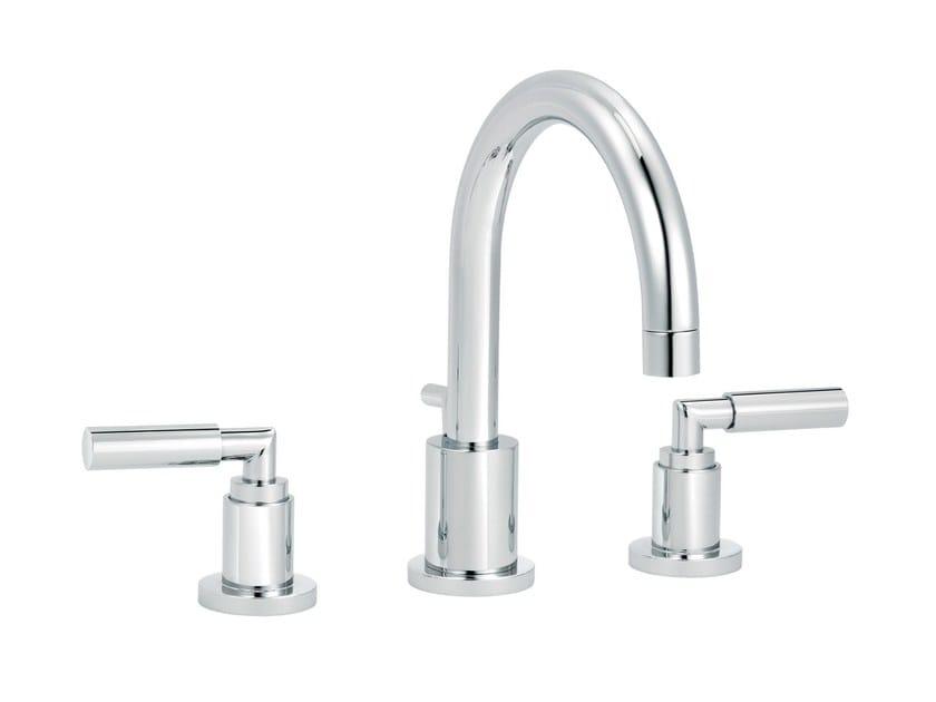 3 hole countertop washbasin mixer CLIFF | 3 hole washbasin mixer by rvb