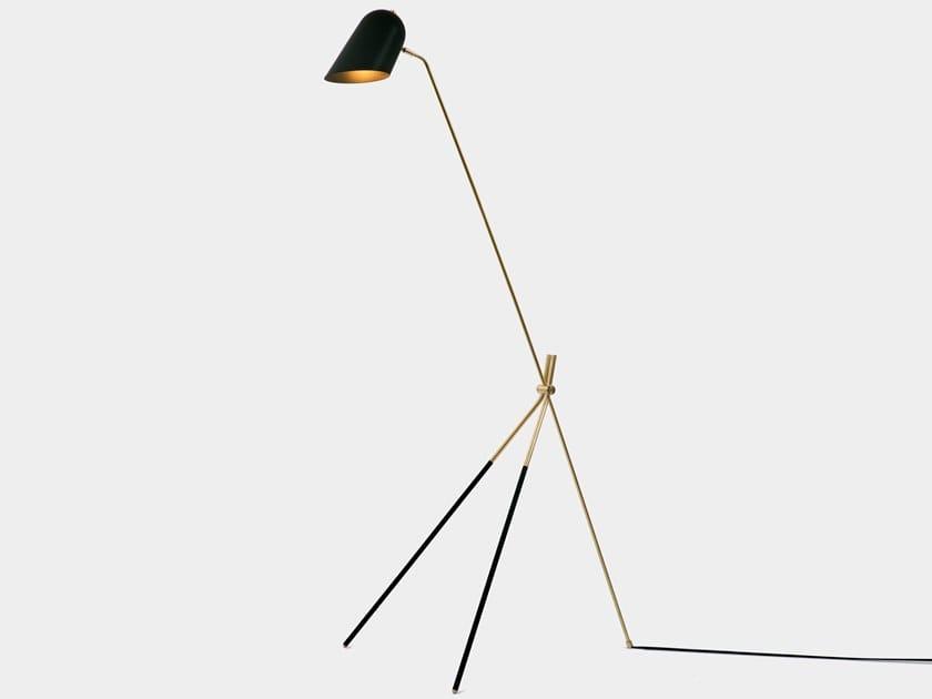 LED direct light floor lamp CLIFF | Floor lamp by Lambert & Fils