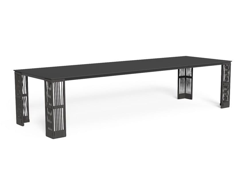 Tavolo da giardino rettangolare CLIFF | Tavolo rettangolare by Talenti