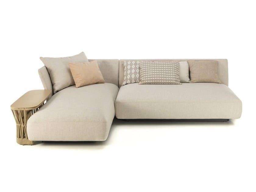 Sectional fabric garden sofa CLIFF   Sectional garden sofa by Talenti