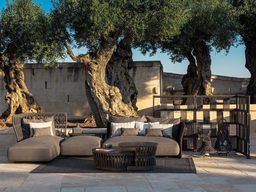 Sectional fabric garden sofa CLIFF | Sectional garden sofa by Talenti