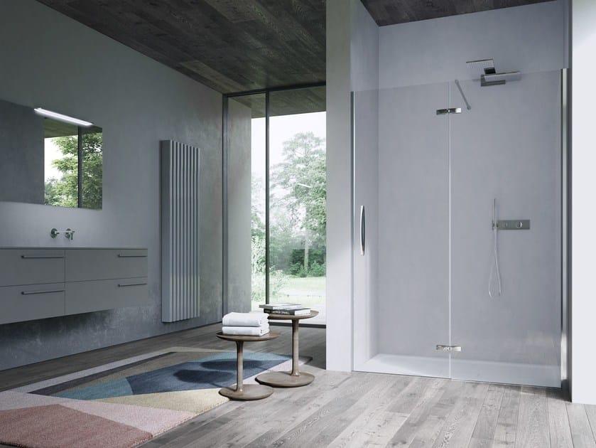 Metal Shower door hinge CLIP | Shower door hinge by Idea