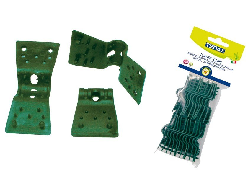 Clips for fixing woven net CLIPS 35 by TENAX