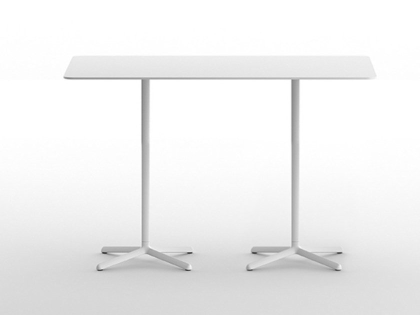 Rectangular table with 4-star base CLIVO 108 DOUBLE by arrmet
