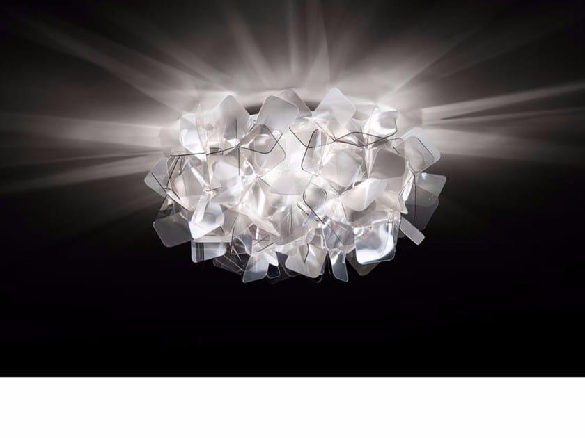 Da Mini Soffitto Slamp Lampada Led Cristalflex® FumÈ A Clizia In QBdCsthrx