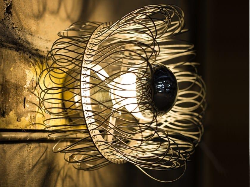 Lampada da parete a LED in metallo CLOCHE   Lampada da parete by Quasar