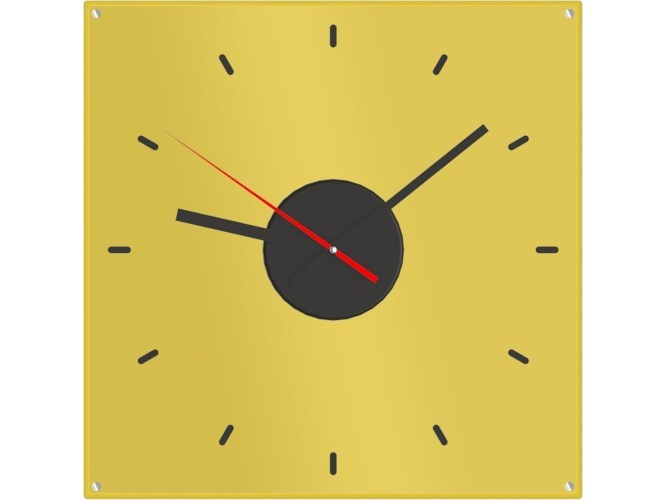ABS clock CLOCK by Add Plus