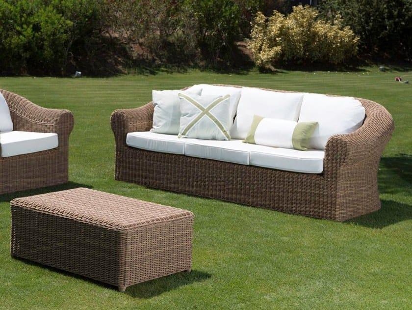 3 seater garden sofa CLOE   Garden sofa by Braid