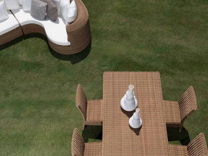 CLOE Rectangular Table Cloe Collection By Braid New Garden Design Games Collection