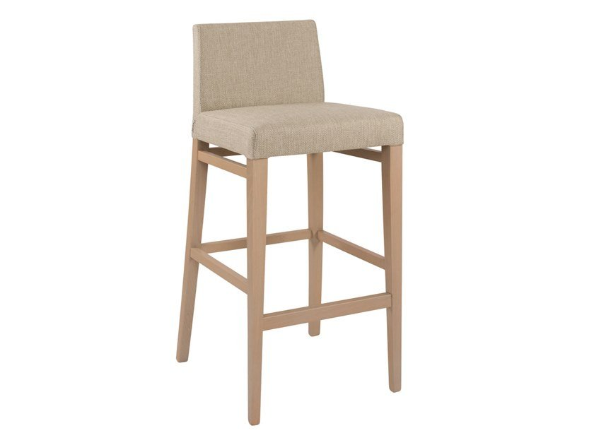 High upholstered fabric stool CLOE SG01 by New Life