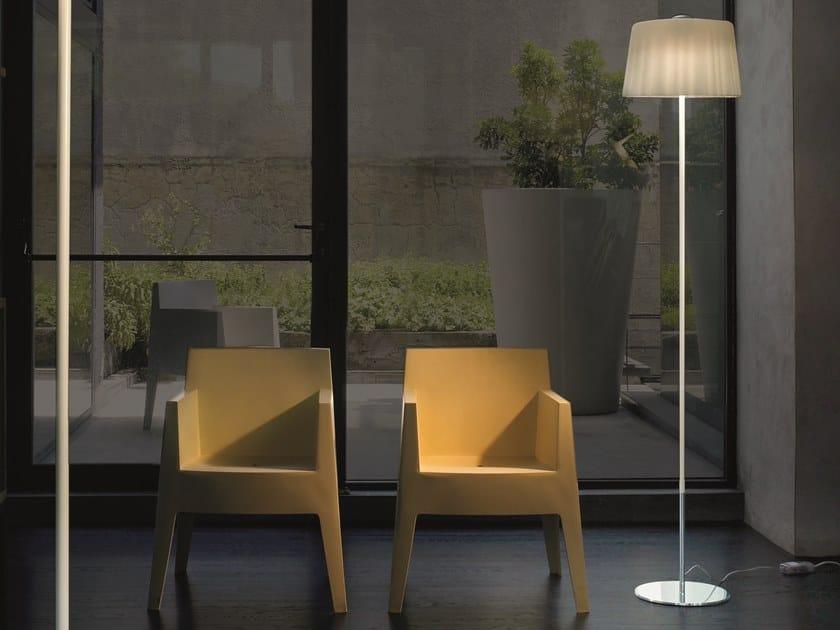 Luminária de pé de vidro soprado CLOTH PT by Vetreria Vistosi