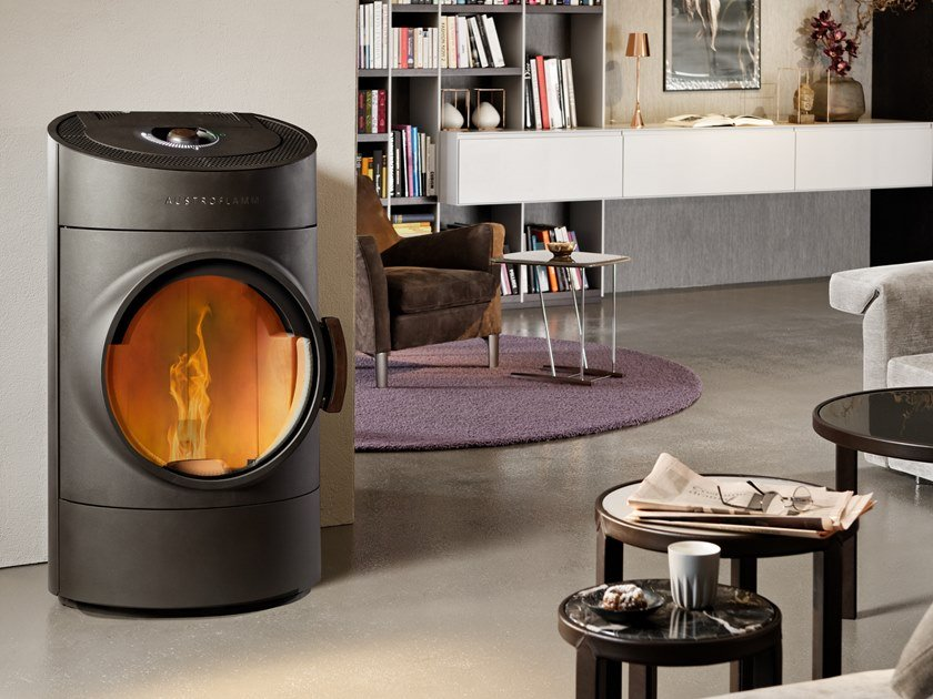 Pellet stove CLOU COMPACT PELLET by Austroflamm