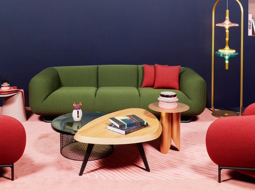 3 Seater Fabric Sofa Cloud 9 By Cider