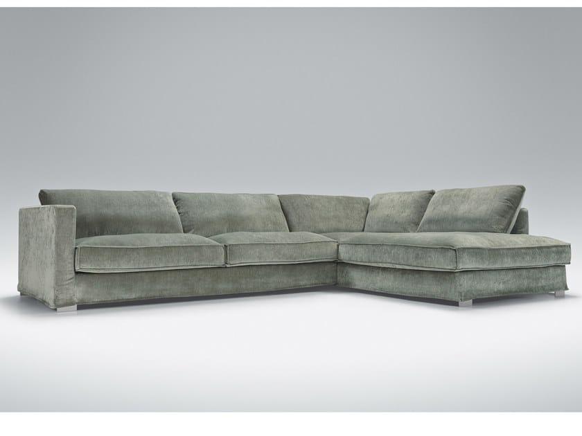 5 seater corner upholstered fabric sofa CLOUD   Corner sofa by Sits