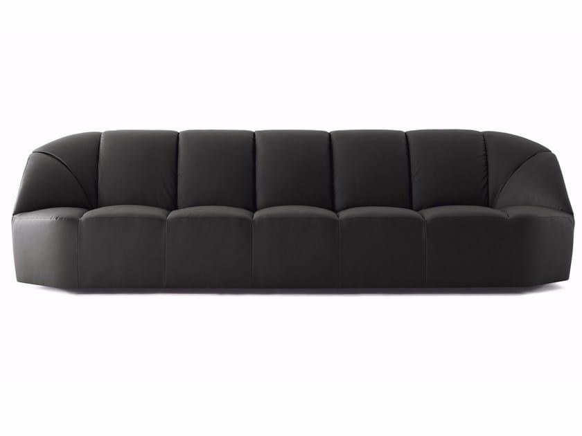 Leather sofa CLOUD | Sofa by Gallotti&Radice