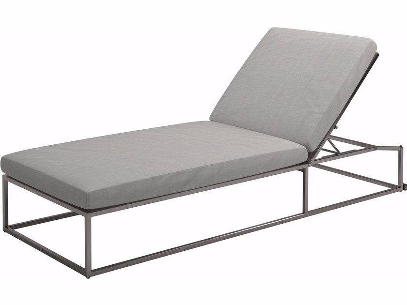 Recliner fabric garden daybed CLOUD   Garden daybed by Gloster