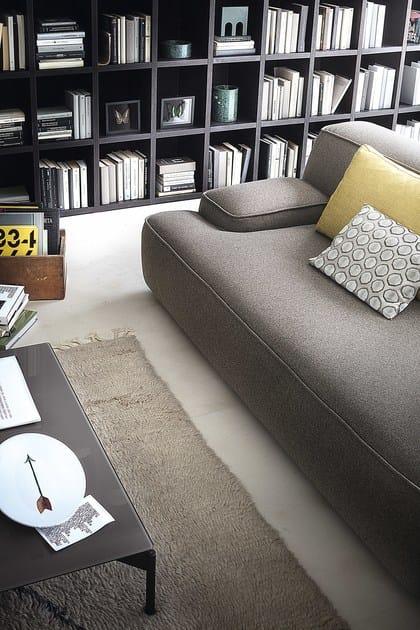 Sectional fabric sofa cloud by lema design francesco rota for Prostoria divani