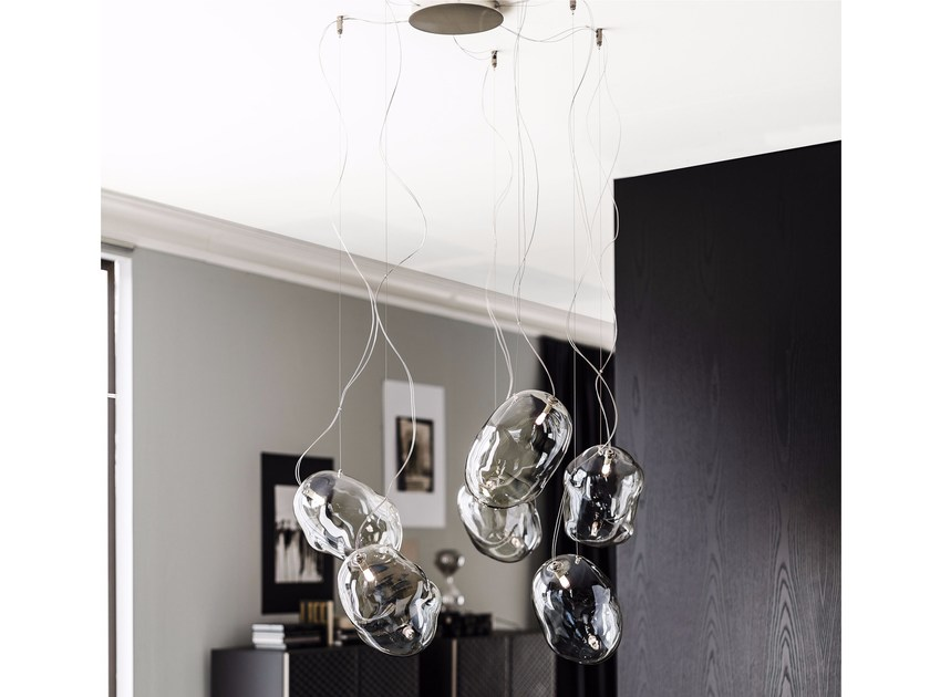 Crystal pendant lamp CLOUD | Pendant lamp by Cattelan Italia
