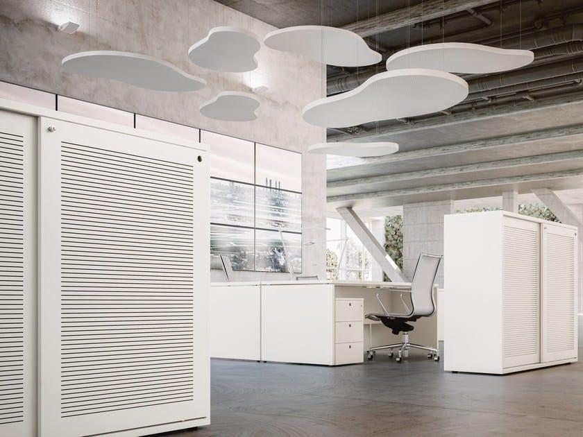 Acoustic ceiling clouds CLOUDAKUSTIK by FANTONI