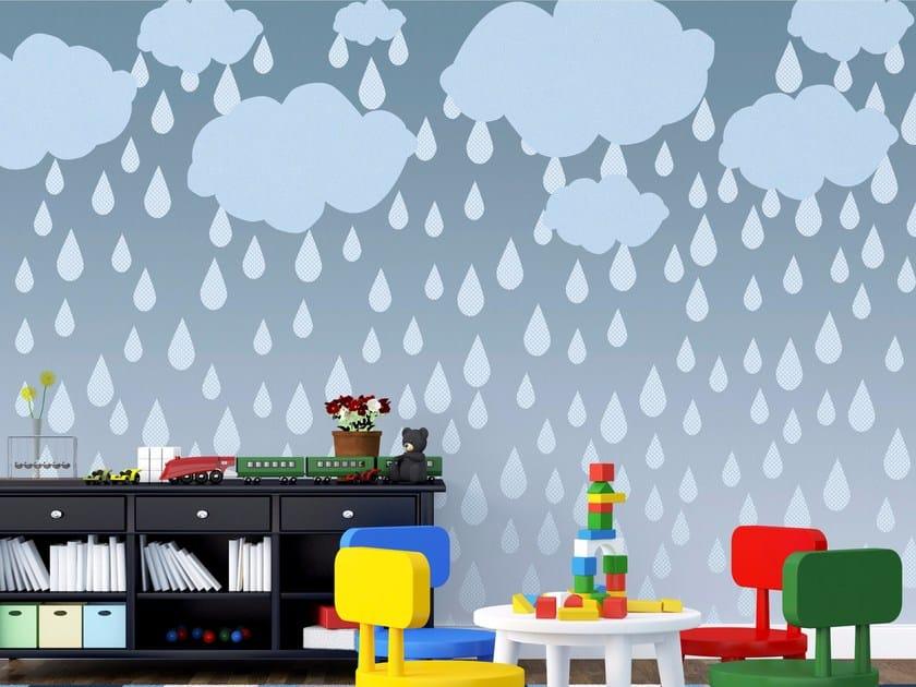 Kids wallpaper CLOUDS by Wallpepper