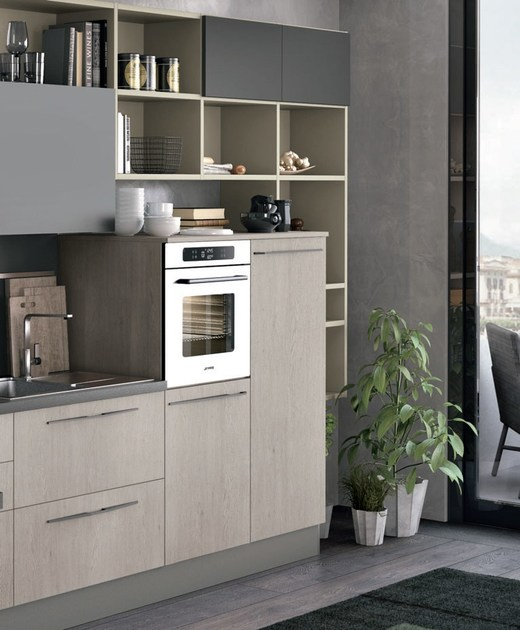 Rivenditori Cucine Lube : Cucina componibile lineare clover by cucine lube design