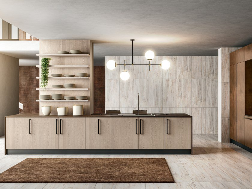 Fitted Kitchen Clover 05 Clover Collection By Cucine Lube