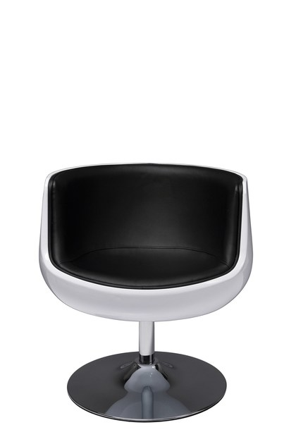 Swivel upholstered easy chair CLUB 54 by KARE-DESIGN