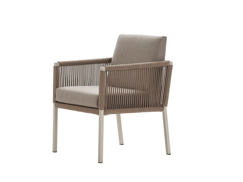 Garden armchair with armrests CLUB | Easy chair by solpuri