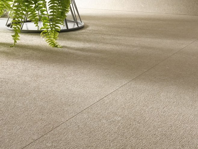 Porcelain stoneware wall/floor tiles with stone effect CLUNY - CHAMPAGNE by COTTO D'ESTE