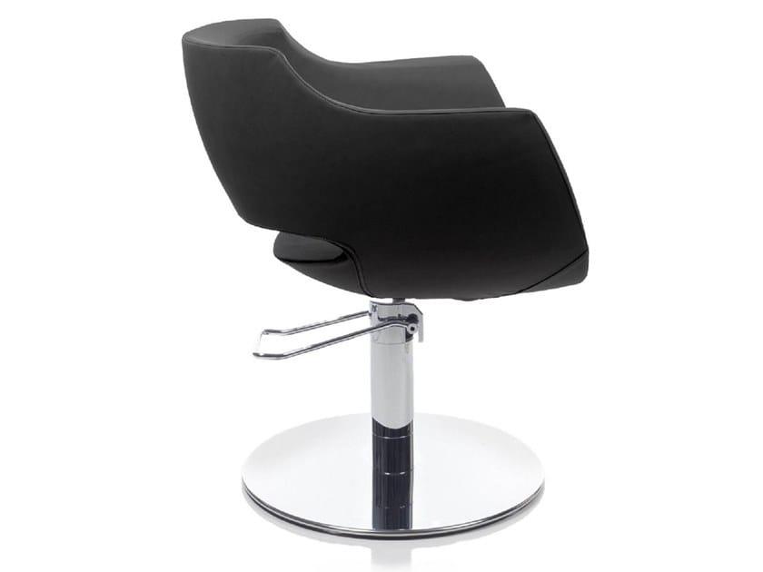 Hairdresser chair CLUST ROTO by Gamma & Bross