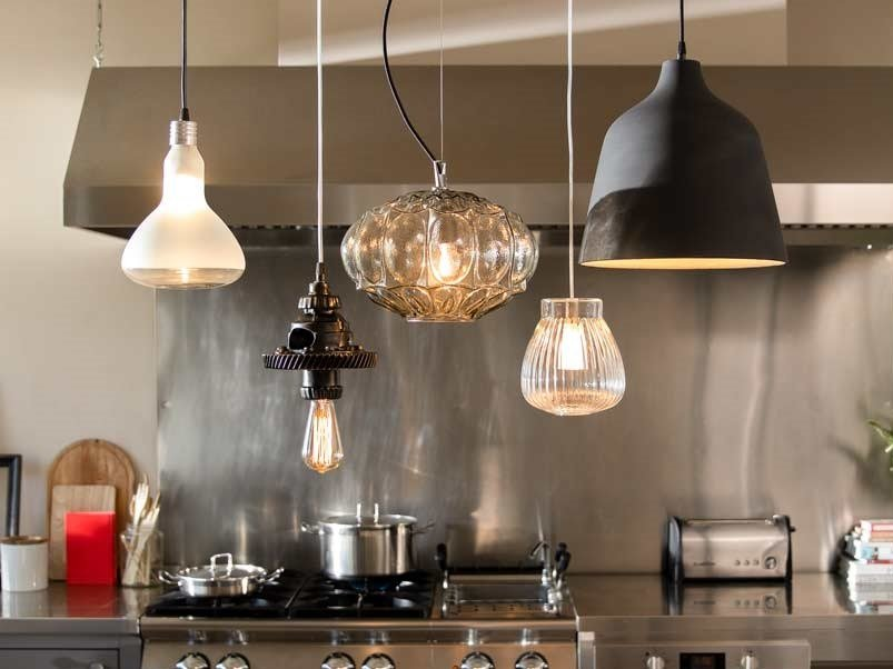 Pendant lamp CLUSTER by Karman
