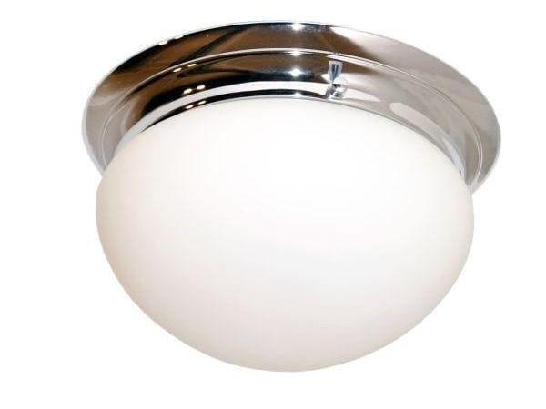 Direct light handmade ceiling light CLYDE SEMI FLUSH CEILING FITTING by Mullan Lighting