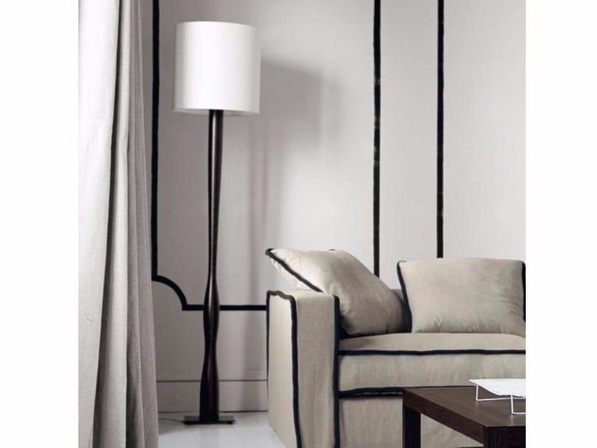 Handmade steel floor lamp CND 180 by Casamilano