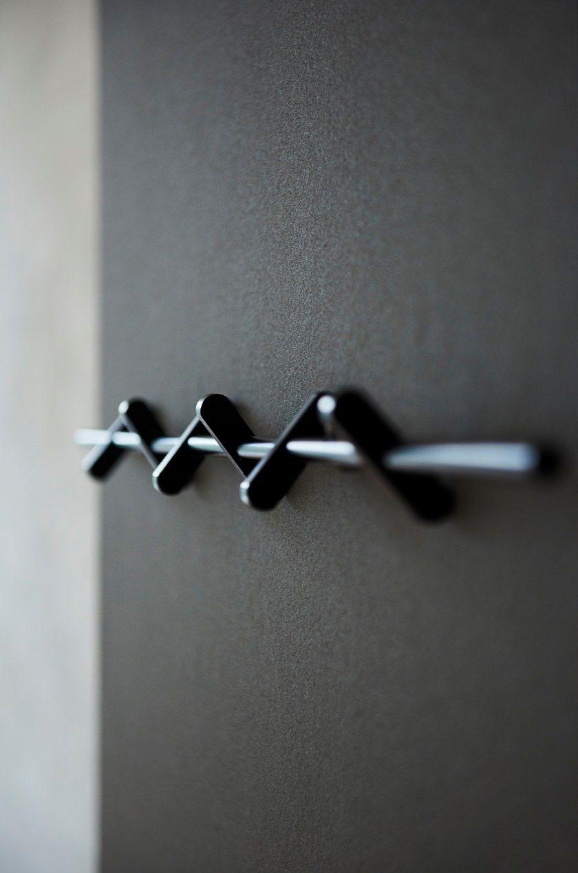 Appendiabiti A Muro In Acciaio.Appendiabiti Da Parete In Acciaio Coat Rack Moebe
