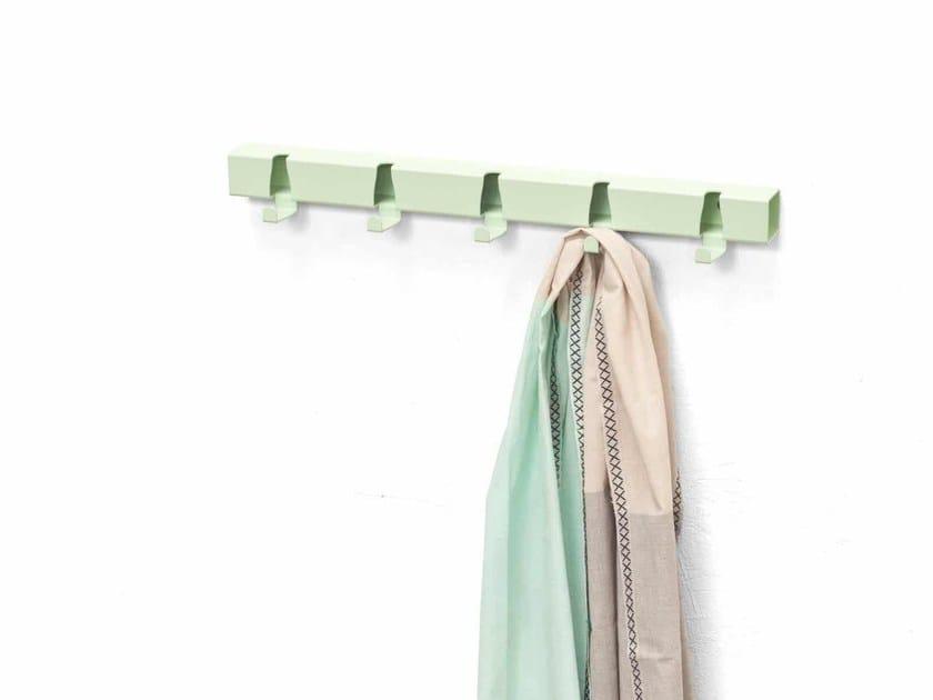 Wall-mounted coat rack COATRACK BY THE METER by Vij5