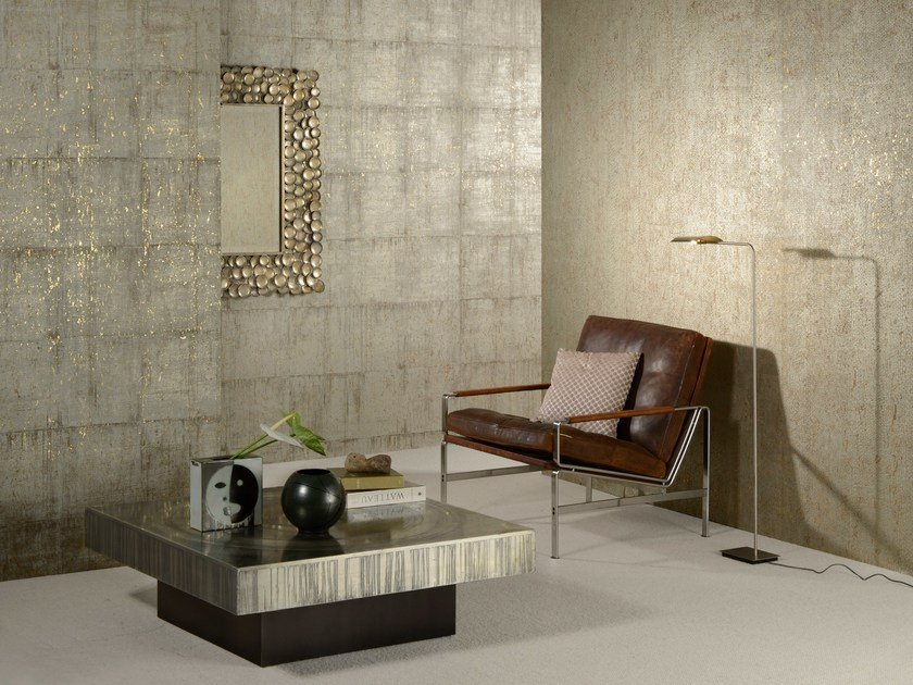 Cork wallpaper COBRA BLOCK by Omexco