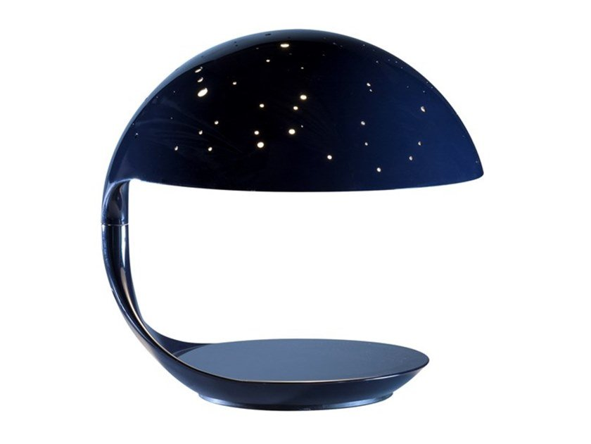 Lampada da tavolo a LED girevole in resina COBRA SCORPIUS by Martinelli Luce