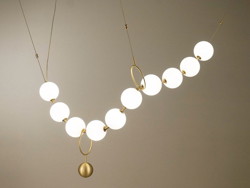 LED pendant lamp COCO by Larose Guyon