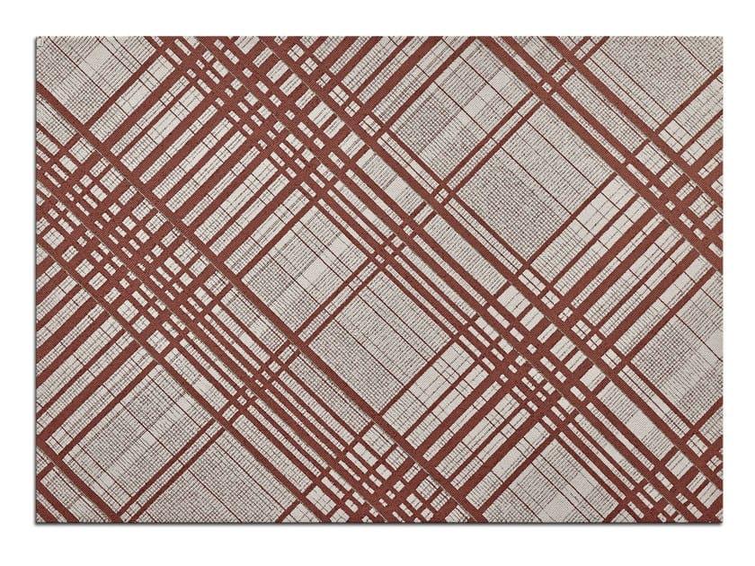 Handmade rectangular rug COCO by OT Oliver Treutlein