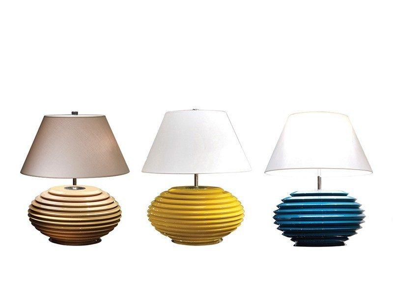 Wooden table lamp COCO | Table lamp by Mobi