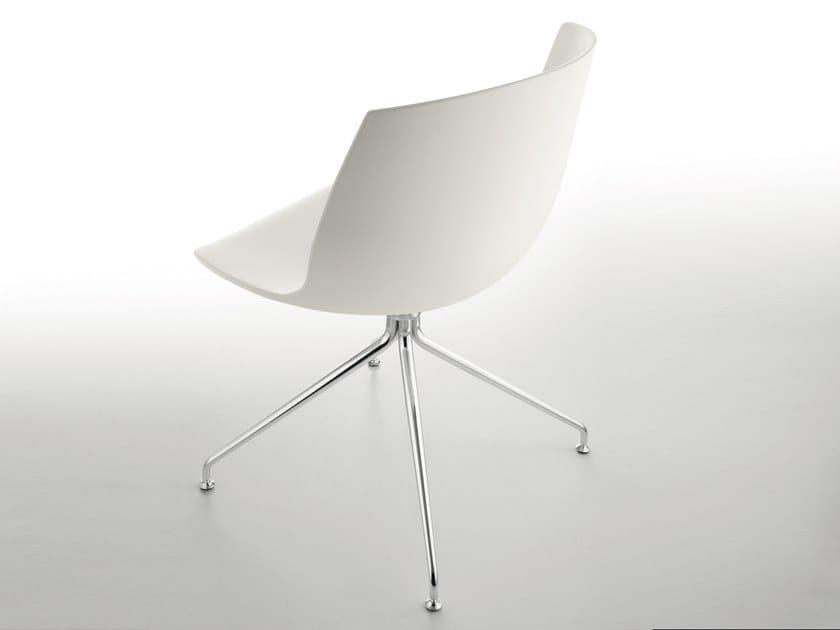 Sedia ergonomica su trespolo in poliuretano e metallo COCOON | Sedia ergonomica by BBB