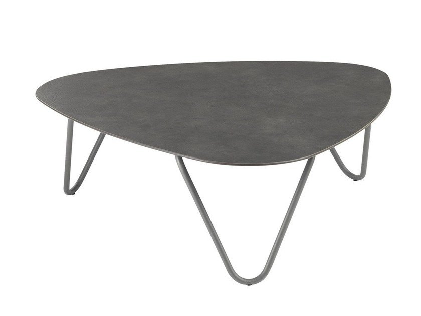 HPL garden side table COCOON | Coffee table by Lafuma Mobilier