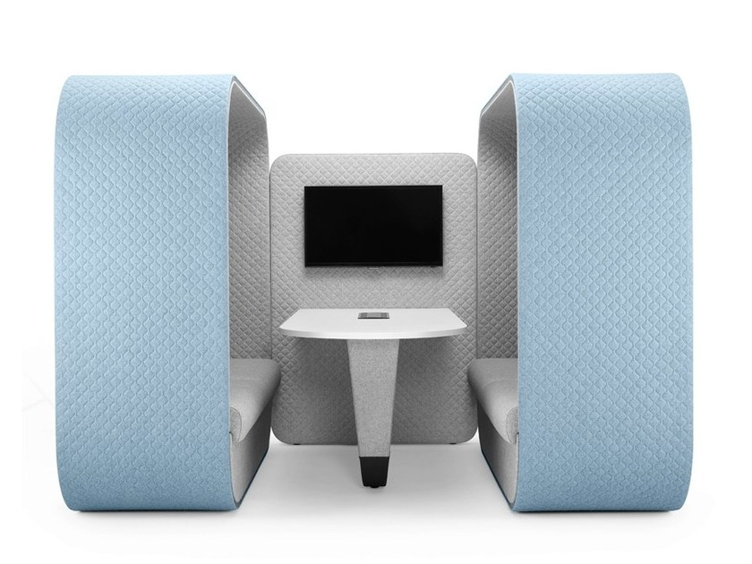 Meeting pod COCOON MEDIA UNIT   Office booth by Boss Design