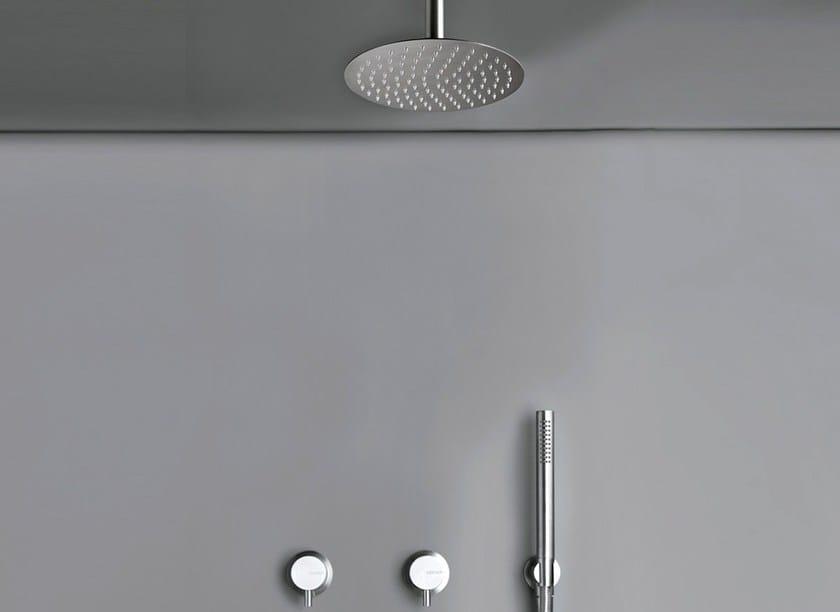 Miscelatore per doccia con soffione cocoon mono set20 cocoon