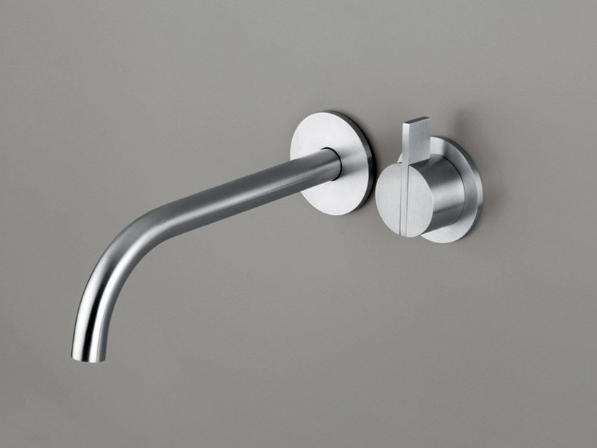 Wall-mounted single handle washbasin mixer COCOON PB SET01 by COCOON