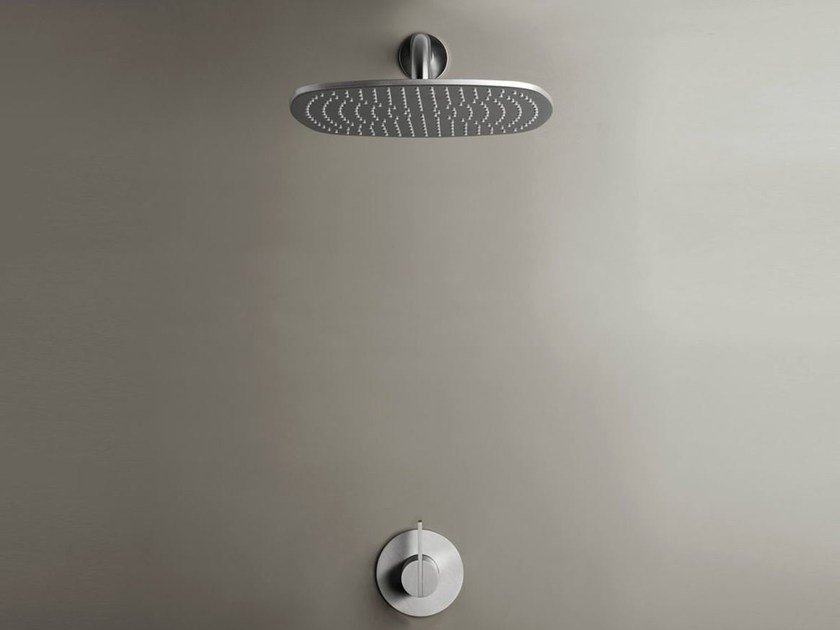 Shower mixer with overhead shower COCOON PB SET21 by COCOON