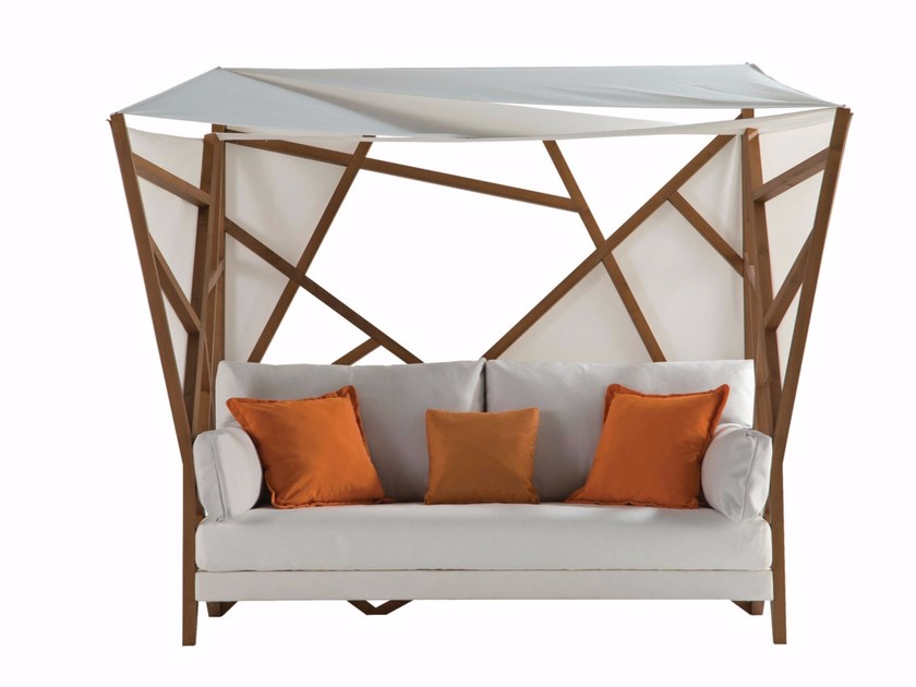 Canopy fabric sofa COCOON by ROCHE BOBOIS